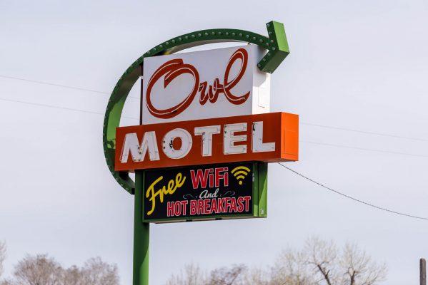 Motel Signs