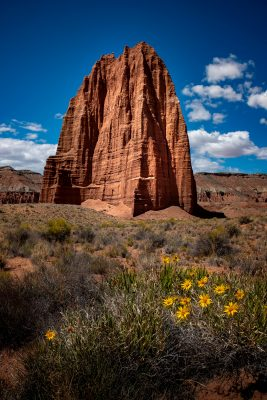Capitol Reef - Temple of the Sun