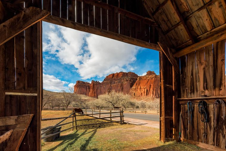 Capitol Reef Barn Photo Dissection