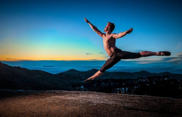 Jakob leaps