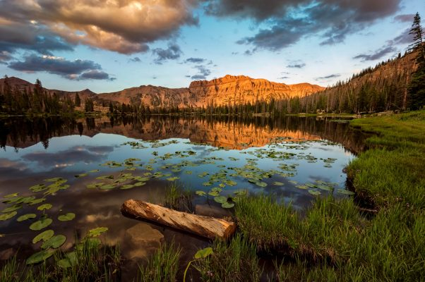 Uinta Mountain Sunset