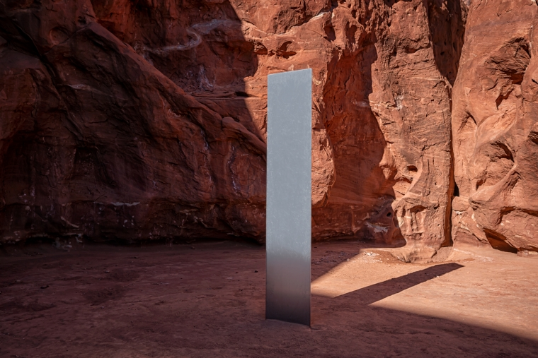 Utah Monolith: Art or Alien Artifact?